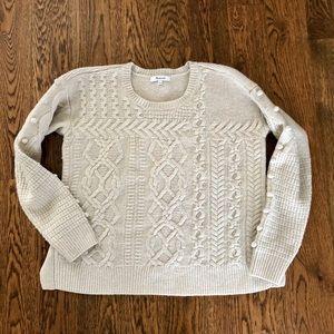 Madewell pom sweater